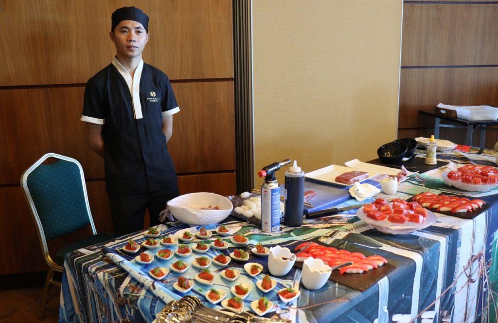 balfego tenerife hoy cocinamos con ronqueo zona sushi - 1