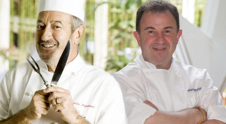 Cocina Karlos Arguiñano | El Cocinero Martin Berasategui Se Une Al Equipo De Karlos Arguinano